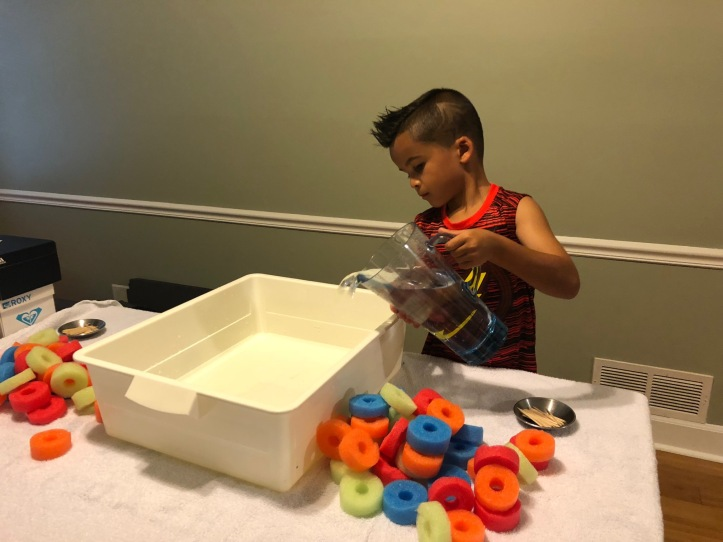 Pool Noodles & Toothpicks! AGES 2+ – Learn As You Play